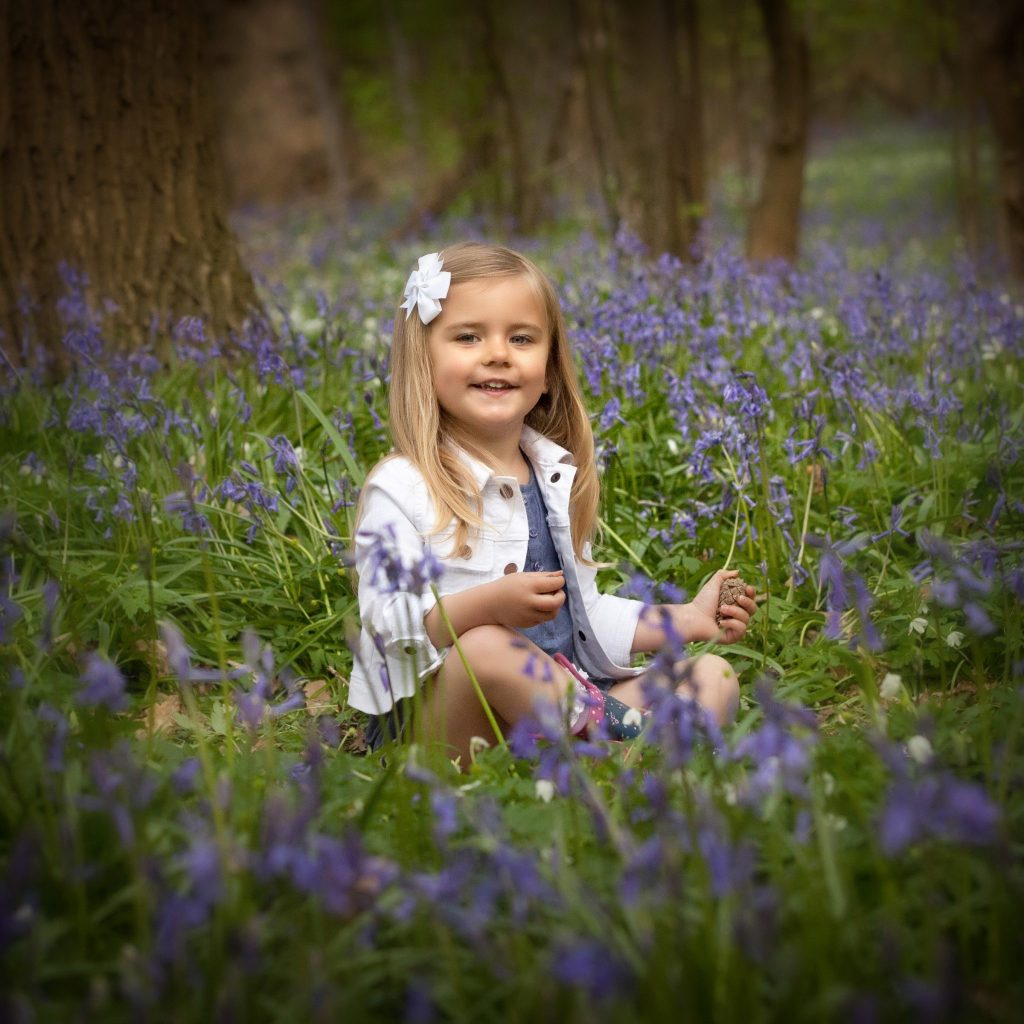 What to wear on a bluebell photo shoot